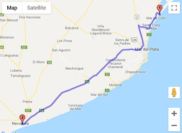 Mar Chiquita - Necochea
