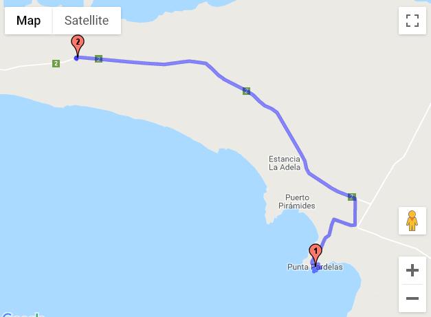 Punta Pardelas - Péninsule Valdés - Puerto Madryn