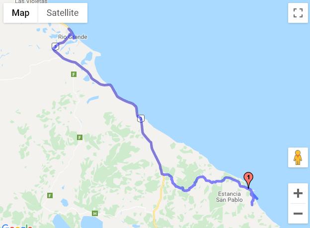 Rio Grande - Cabo San Paulo