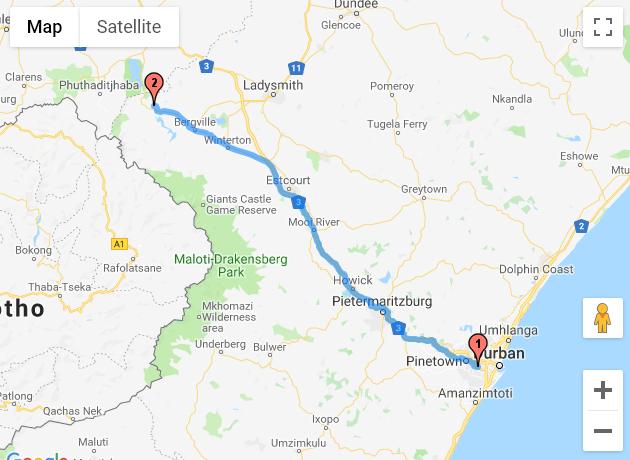 Durban - Drakensville
